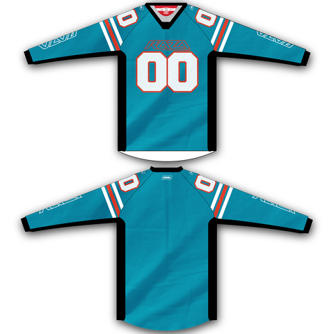Teal Orange TM2 Jersey