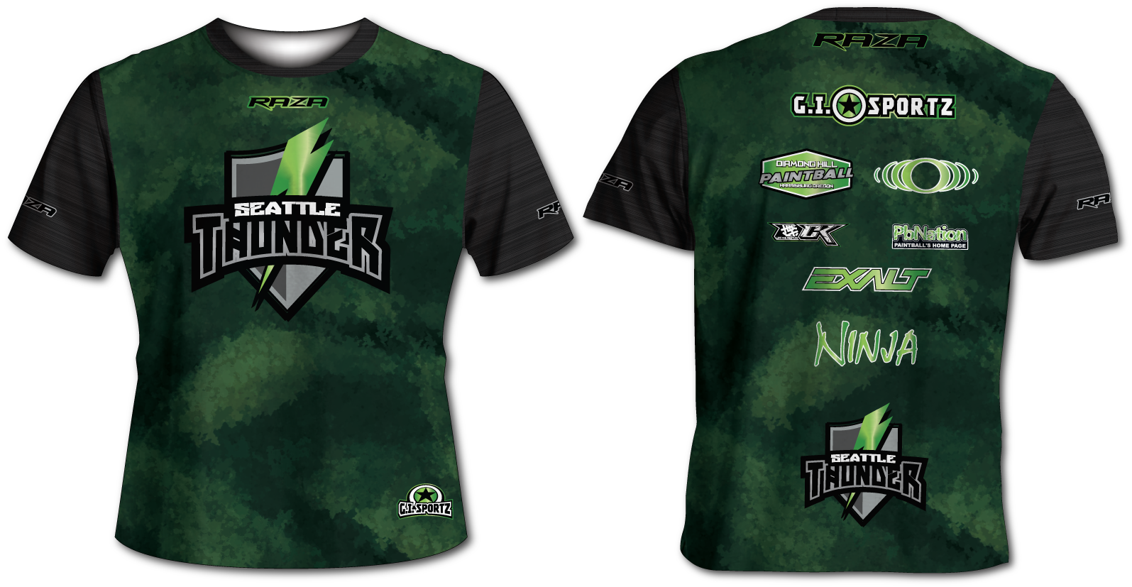 Seattle Thunder Vanish Tech Shirt