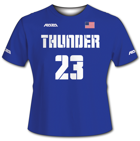 USA Thunder Blue Tech Shirt