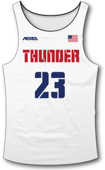 USA Thunder White Tank Top