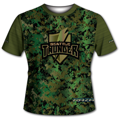 Seattle Thunder Camo Tech Shirt