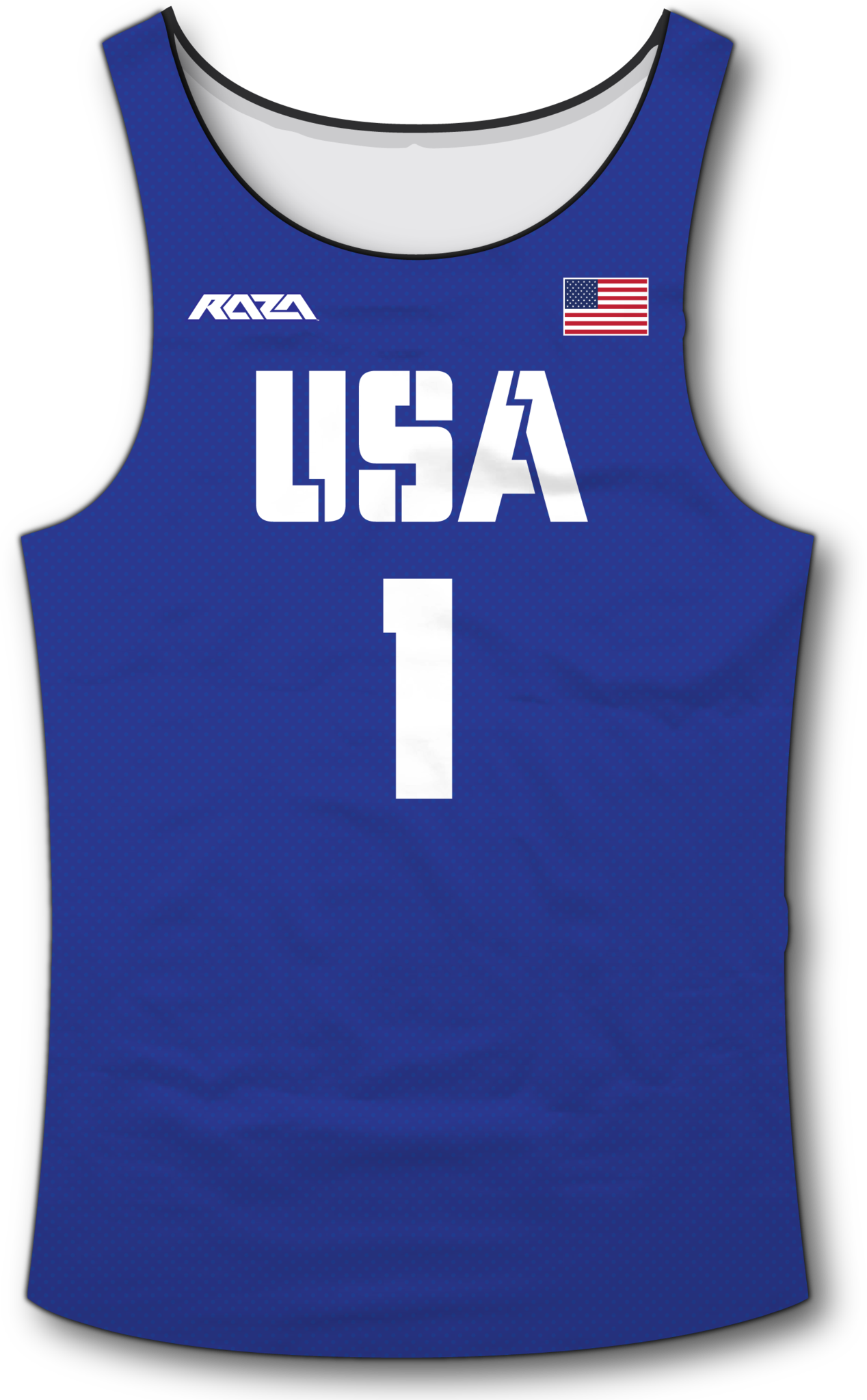 USA Blue Tank Top
