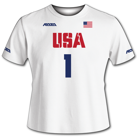 USA White Tech Shirt