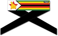 Zimbabwe Flag Series Headband