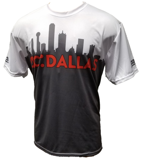 ac DALLAS City Skyline Tech Shirt