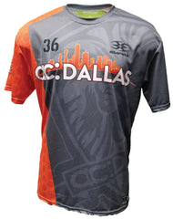 ac DALLAS Texas Open (Grey) Tech Shirt