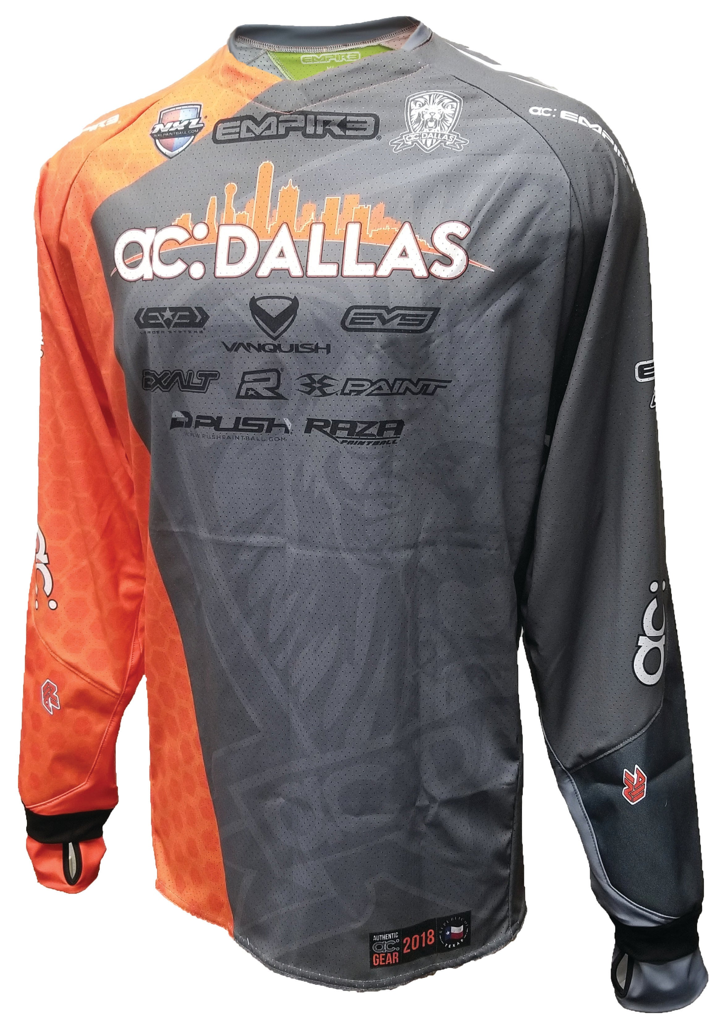ac Dallas - Texas Open 2018 Home (Grey) Jersey