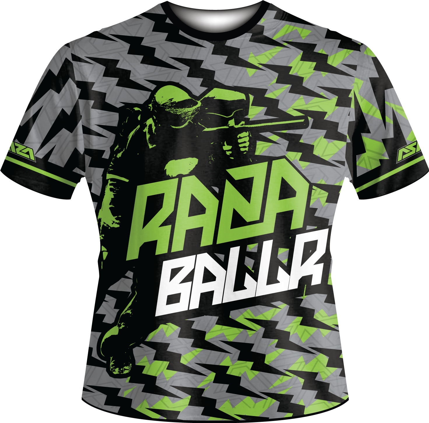 Baller Tech Shirt - RazaLife - Tech Shirt - Razalife - RazaLife - paintball - custom - jerseys - sports - uniforms - woodsball - softball - baseball - basketball - soccer