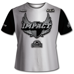 Edmonton Impact Gray Black Tech Shirt
