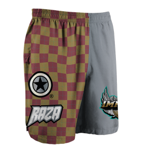 Edmonton Impact Checkered Shorts