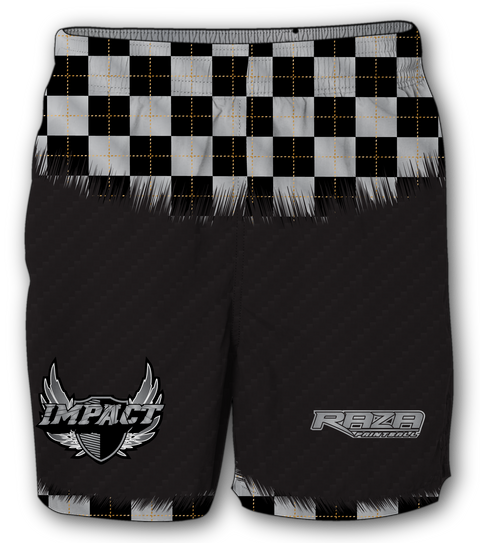 Edmonton Impact Carbon Checkered Shorts