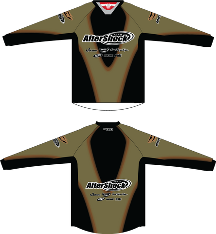 Aftershock Throwback Olive TM2 JERSEY