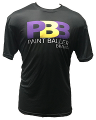 IN STOCK PBB Purple Gold Tech Shirt