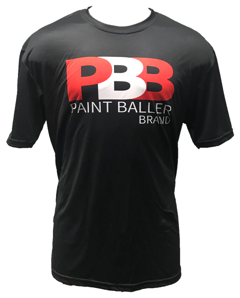 PBB Red White Tech Shirt