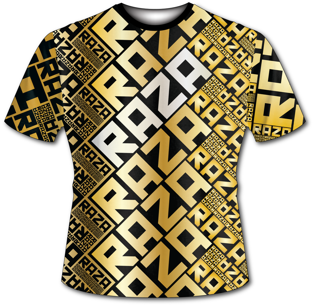 RazaRev Gold Tech Shirt