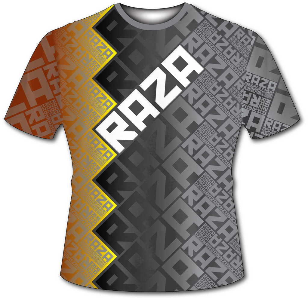 RazaRev Yellow Tech Shirt