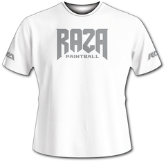 Raza Paintball White Tech Shirt