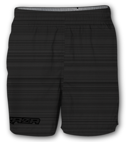 Static Black Shorts