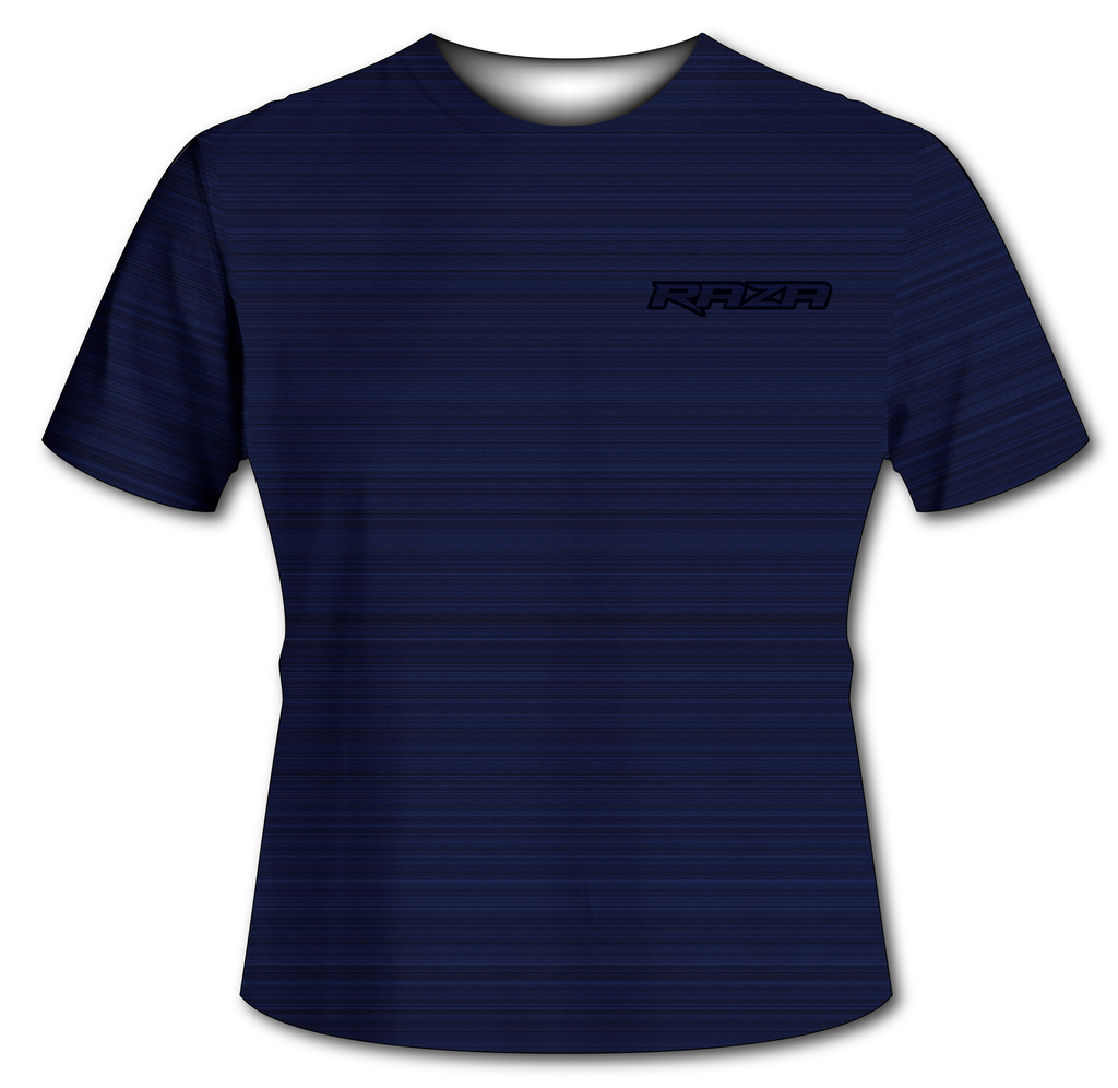 Static Navy Blue Tech Shirt