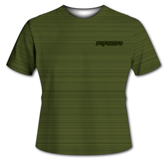 Static Olive Drab Tech Shirt