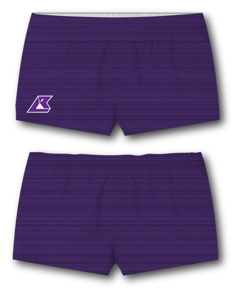 Women's Static Purple Shorts