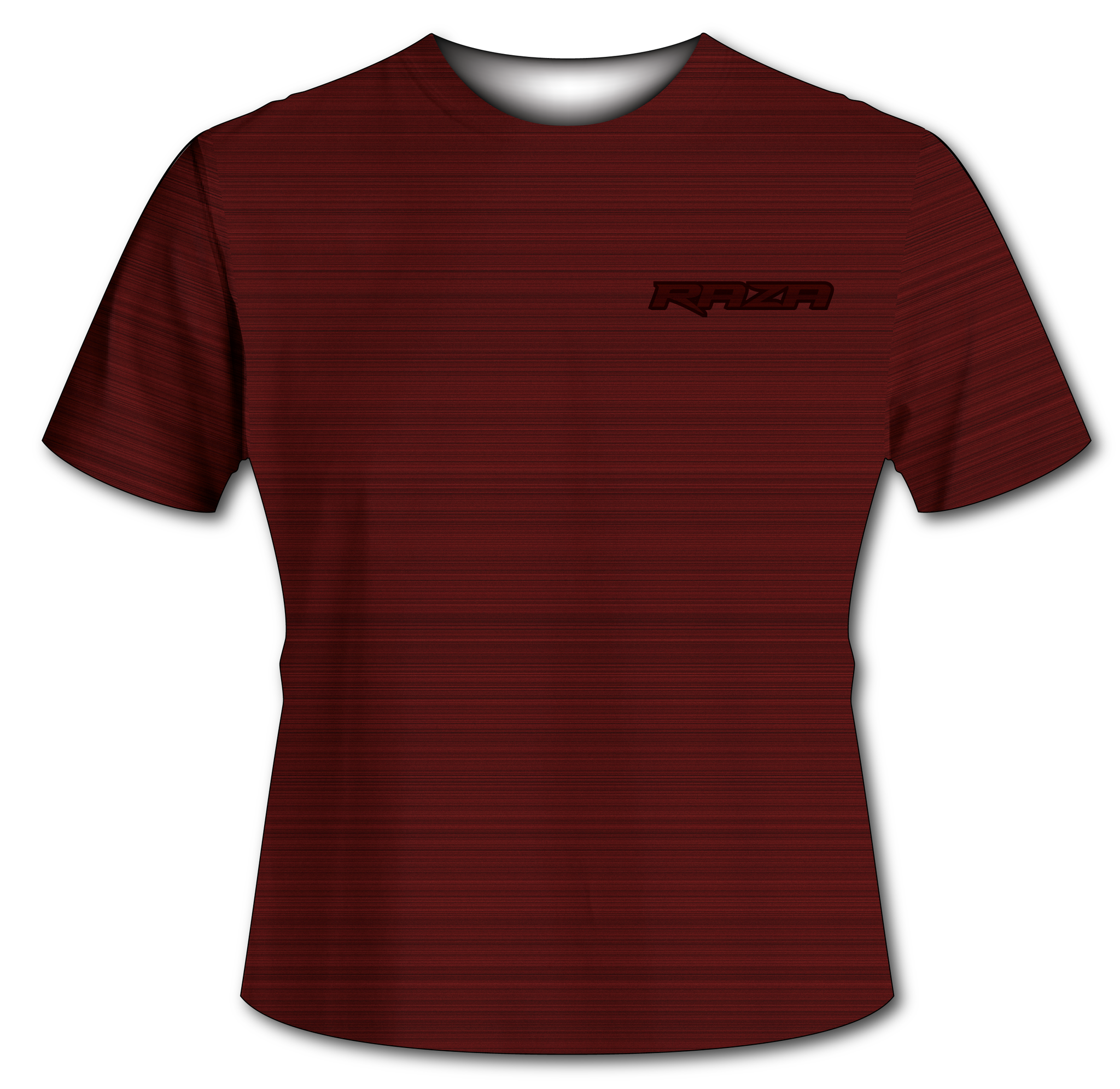 Static Red Tech Shirt