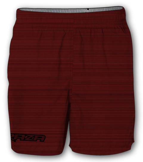 Static Red Shorts