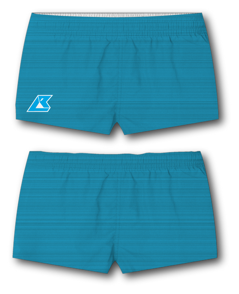 Women's Static Cyan Shorts