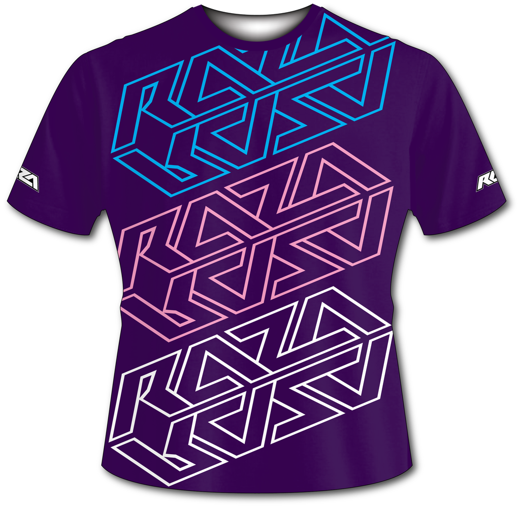 Sweetea Purple Tech Shirt