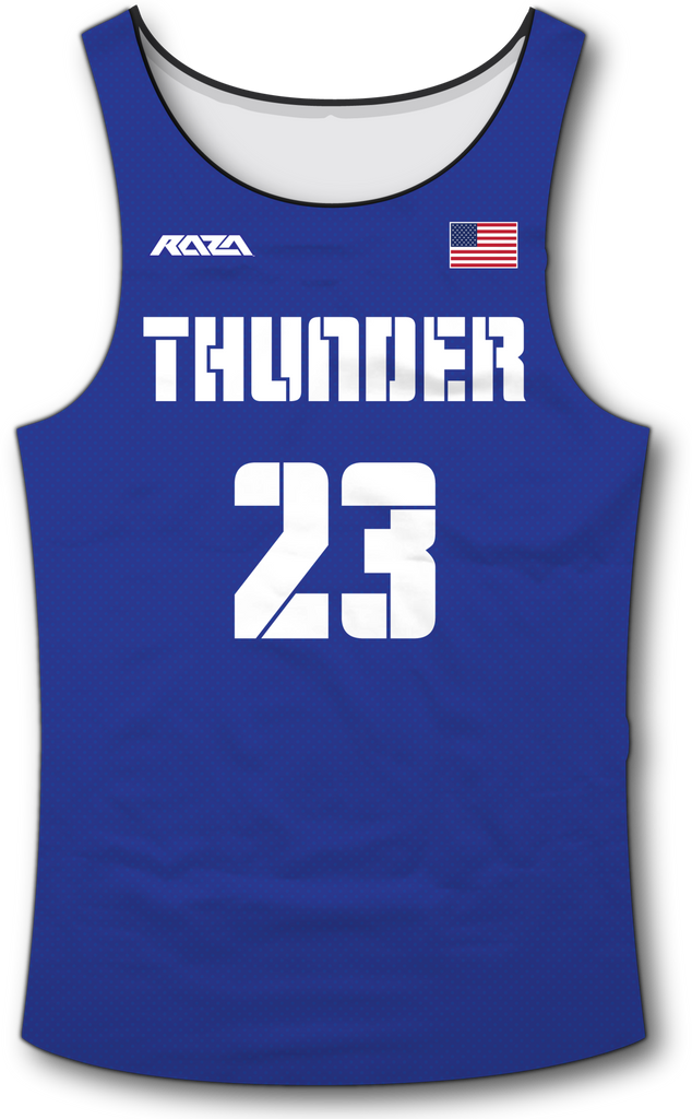 USA Thunder Blue Tank Top