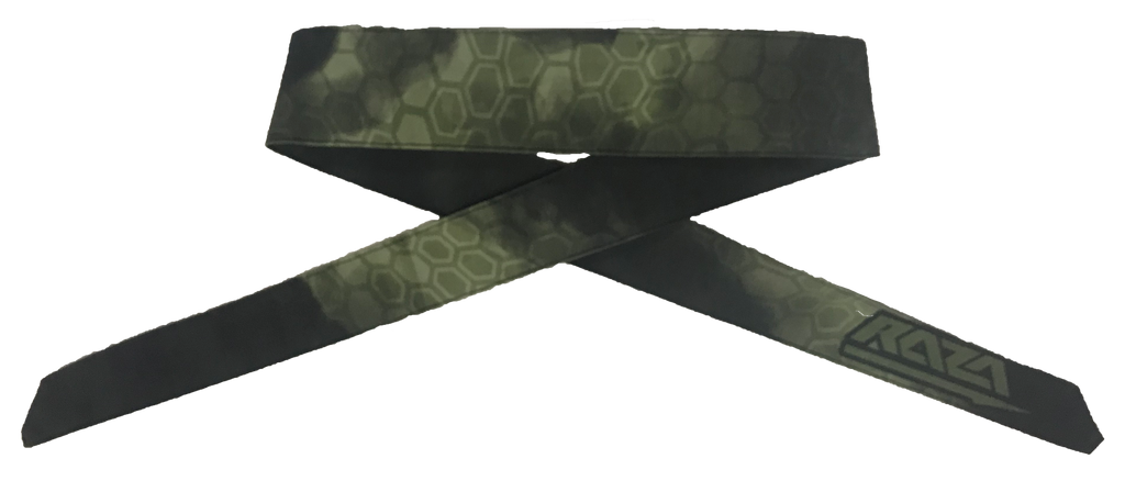 Vanish Tek Green Headband