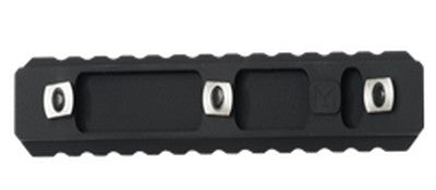 13-Slot M-LOK Metal Rail Section (Black) - Phoenix Tactical