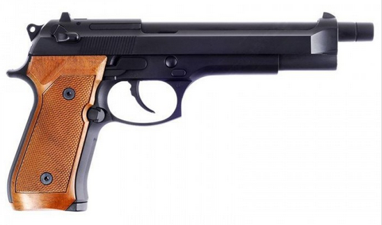 WE M92 L Black ( Brown Grip )