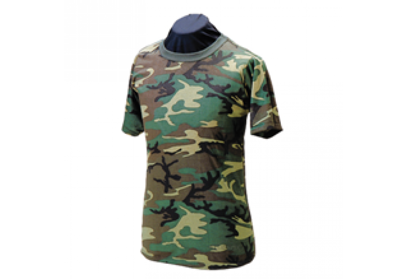 Tru-Spec Short Sleeve Woodland T-Shirts