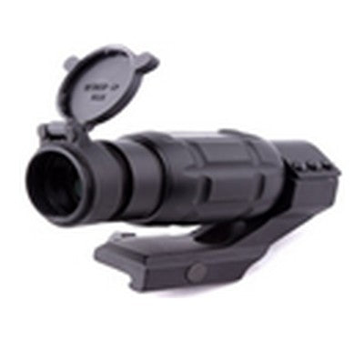 3X Magnifier W/ Mount (Black)