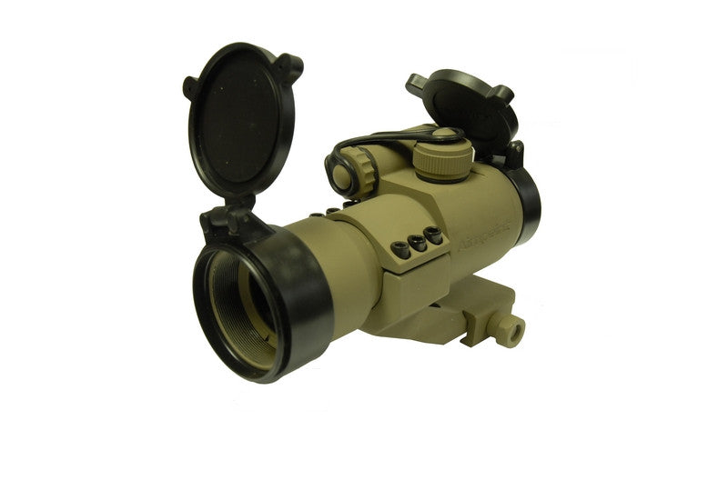 1x32mm RED Dot Scope Cantilever AP Mount M2 (Sand) - Phoenix Tactical