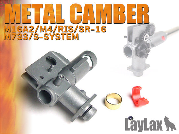 Prometheus / Laylax Metal Hop-Up Chamber Unit (NEO) for Marui M16/M4 - Phoenix Tactical
