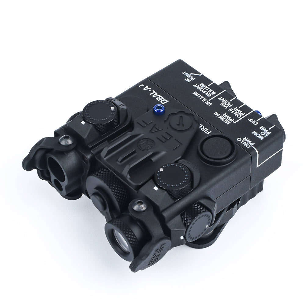 DBAL-A2 Style Aiming Devices (Red&Green Laser) / BK