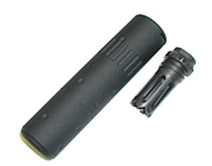 AAC Style Silencer for SCAR (Black) - Phoenix Tactical