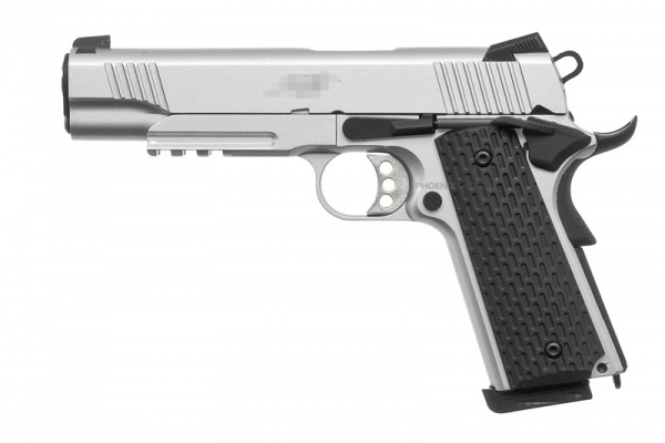ARMY Kimber Gas Blowback Pistol ( Silver )