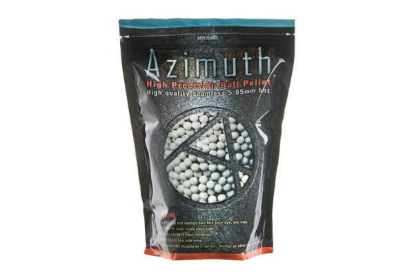 Azimuth 0.3g Biodegradable 6mm BB ( 1KG Pack ) - Phoenix Tactical