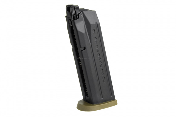 Cybergun 24 Rds Gas Magazine for M&P9 Full Size ( Tan )