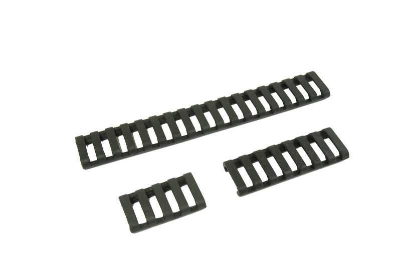 Element 18-Slot Rail Cover Set (Black) - Phoenix Tactical