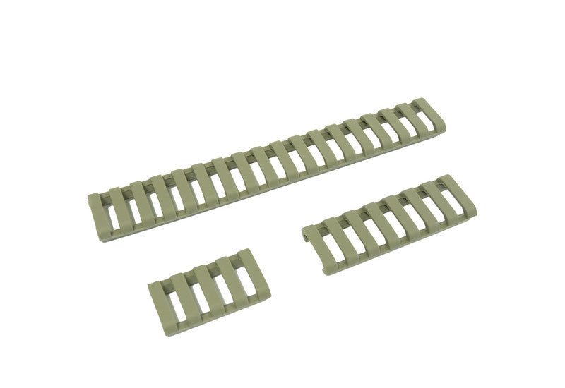 Element 18-Slot Rail Cover Set (Foliage Green) - Phoenix Tactical