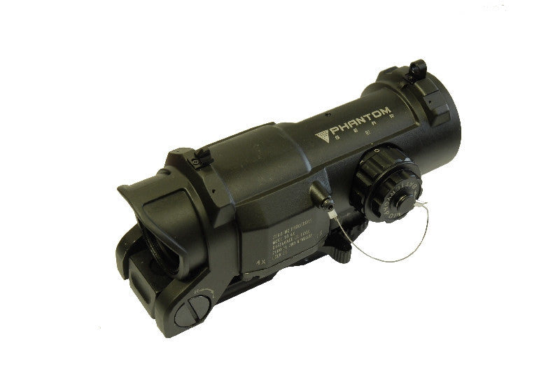 DR 1X-4X Illuminated Reticle Scope