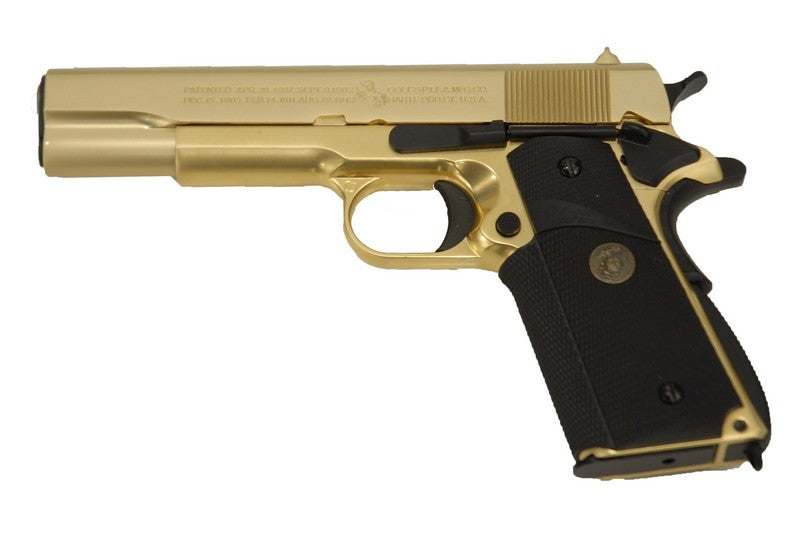 WE M1911A1 24K GOLD Plated ( AFG )