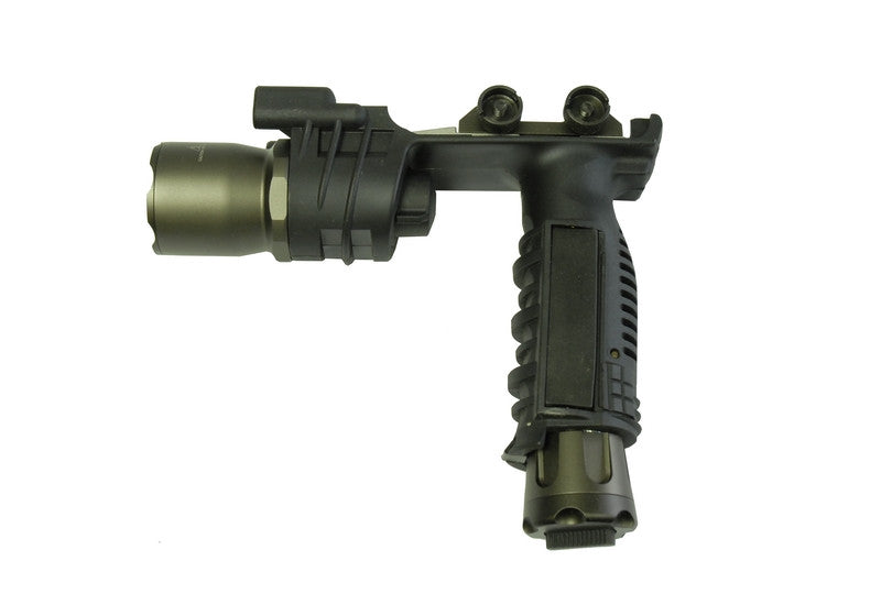 Element Vertical Foregrip W/Light (Black) - Phoenix Tactical