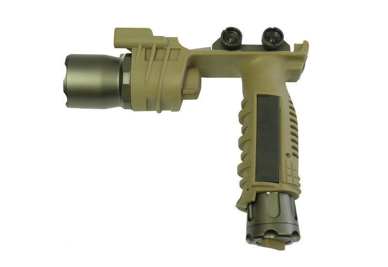 Element Vertical Foregrip W/Light (Dark Earth)
