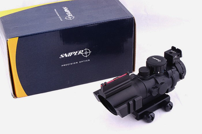 Shooter 4X Combat Scope W / Fiber