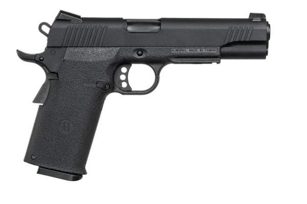 KJWorks KP-11 Gas Blowback Pistol ( Black )